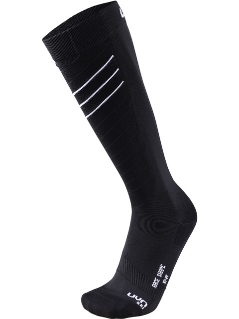 UYN Ski Race Shape Socks Men Black/White